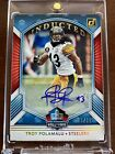 5 15 2020 Donruss Troy Polamalu Steelers Inducted Hall Of Fame Sp Auto Rare!