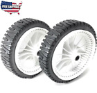 2 PC Lawn Mower Front Wheel for Craftsman 917376591 917377100 9173706 675 HP