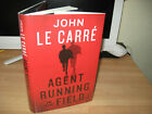 John Le Carre title page Signed Agent Running In The Field 1st politics thriller