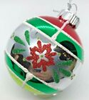 NEW Shiny Brite Christopher Radko Glass Ornaments Classic Christmas Silver & Red