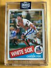 Carlton Fisk Cards, Rookie Card and Autographed Memorabilia Guide 9