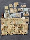 Huge Mixed Lot Of 170+ Wooden Rubber Stamps Flowers Holidays Arts Craft + MORE