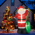 8Ft Christmas Inflatable Santa Claus w Gifts Blow Up Yard Decoration Outdoor