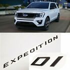 Gloss Black Front Hood EXPEDITION Letters Emblem FIT 2018 2020 Ford EXPEDITION
