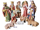 Huge Nativity Christmas 36 Set 11 Pcs Nacimiento Navidad  New