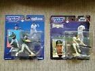 Lot of 2 Oakland Athletic's MLB Starting Lineup Figures Jose Canseco/Ben Grieve