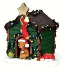 Lemax 02808 DECORATED LIGHT DOGHOUSE Christmas Village Accessories O G Scale I