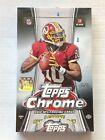 2012 Topps Chrome Football Factory Sealed Hobby Box Russell Wilson Rookie Card