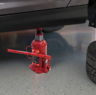 BIG RED Torin Hydraulic Welded Bottle Jack 20 Ton 40000 lb Capacity Red