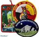 Native American Experience BOY SCOUTS Powwow Patches LOT Hitchiti Dancers PATCH