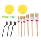 512pcs Car Detailing Brush Kit Truck Vehicle Auto Wheel Rims Clean Brush Set Us