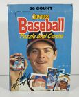 1988 Donruss Baseball Puzzle and Cards Hobby Box of 34 Count Sealed Packs!
