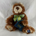 Boyds American Cancer Society Teddy Bear plush with Daffodil Days bag excellent