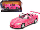 Sukis 2001 Honda S2000 Pink Fast And Furious Movie 1 24 Diecast Model Car By