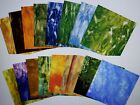 Stained Glass Sheet Variety Pack of random 20 8 X 4 pieces Free Shipping