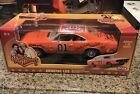General Lee 1 18 Scale signed Dukes of Hazard Car 6 Cast Plus George Barris