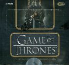 Game of Thrones The Complete Game of Thrones Card Box 24 Packs 2 Autographs