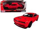 2018 Dodge Challenger SRT Hellcat Widebody Red 1 24 Diecast Model Car By