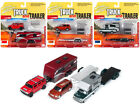 Truck And Trailer Series 3 Set B Of 3 Cars 1 64 Diecast Model Cars By Johnny