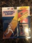 Nolan Ryan Starting Line Up Collectible Figurine New 1992 Edition W/ Card Poster