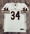 Vintage Nike Authentic NFL #34 Walter Payton Chicago Bears Jersey Size 52