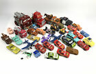 Huge Disney Pixar Cars Diecast and Plastic Different Scales Lot Of 36 Loose