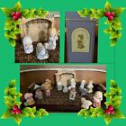 Vintage 1986 Avon Heavenly Blessings Nativity Collection 14 Pieces