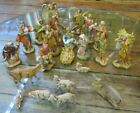 Vintage 1987 Fontanini Manger Nativity Set Made in Italy 21 Pc FIGURES ONLY