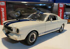 1965 SHELBY Mustang GT 350R 118 Scale Shelby Collectibles Legend Series White