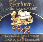 Fontanini Camel Accessory Set for 5 Heirloom Nativities Camel Pack 2 Frames