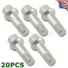 For Mercedes Benz ML350 S500 GLK350 S550 CL500 GL450 Wheel Lug Bolts Nuts KIT