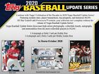 2020 Topps Update Series Hobby Box 1 AUTO OR RELIC PER BOX