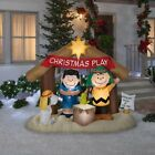 Christmas Nativity Scene Inflatable Outdoor Holiday Decoration Lighted Yard Home