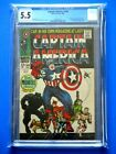 Captain America #100 - CGC 5.5 - Premiere Issue - Iconic Cover - Black Panther