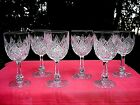 BACCARAT COLBERT 6 WINE GLASSES CRYSTAL WEINGLSER VERRES A VIN CRISTAL TAILL B