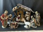 Members Mark Holiday Collection 2006 11 Piece Nativity Set Elaborately Dressed