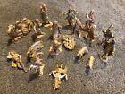Vintage Fontanini Nativity Set Depose 1983 Spider Italy Figurine 19 Pieces Jesus