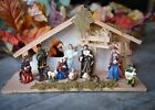 Christmas Nativity Scene Set Figures Polyresin Figurines Baby Jesus 12 PIECE SET