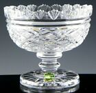 Waterford Ireland Crystal MASTER CUTTER PEDESTAL CANDY NUT BOWL GEORGIAN Unused