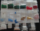 Huge Lot CZECH GLASS BEADS  FINDINGS OVER 1691 ITEMS Lot C30 1