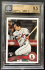 2011 Topps Update Mike Trout BGS 9.5 (9, 9.5, 9.5, 10) GREAT SUBS! #US175