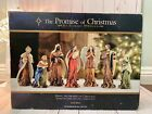 ROBERT STANLEY 2012 THE PROMISE OF CHRISTMAS DELUXE 7 PC SET NATIVITY SCENE