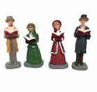 LEMAX Christmas Village Figures Holiday Harmony Miniature Figurines Set of 4