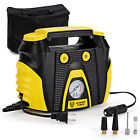 Ultimate Force Portable Air Compressor Tire Inflator AC DC Electric Pump