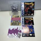 Spider-Man 2 Nintendo Game Boy 1992 COMPLETE Box manual game Spiderman
