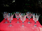 BACCARAT PICCADILLY WINE CRYSTAL GLASSES WEINGLSER VERRE A VIN CRISTAL TAILL F