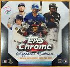 2020 Topps Chrome SAPPHIRE EDITION - Hobby Box - Online Exclusive!!! Box in Hand