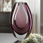 85in Light Purple Wild Orchid Handmade Art Glass Flower Vase Sculpture