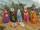 Needlepoint Nativity Kit Heritage Hill Design Free Standing Mostly Complete