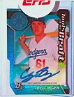 2017 Bowman Platinum Tools of the Craft *Power* Auto 27 35 Cody Bellinger RC